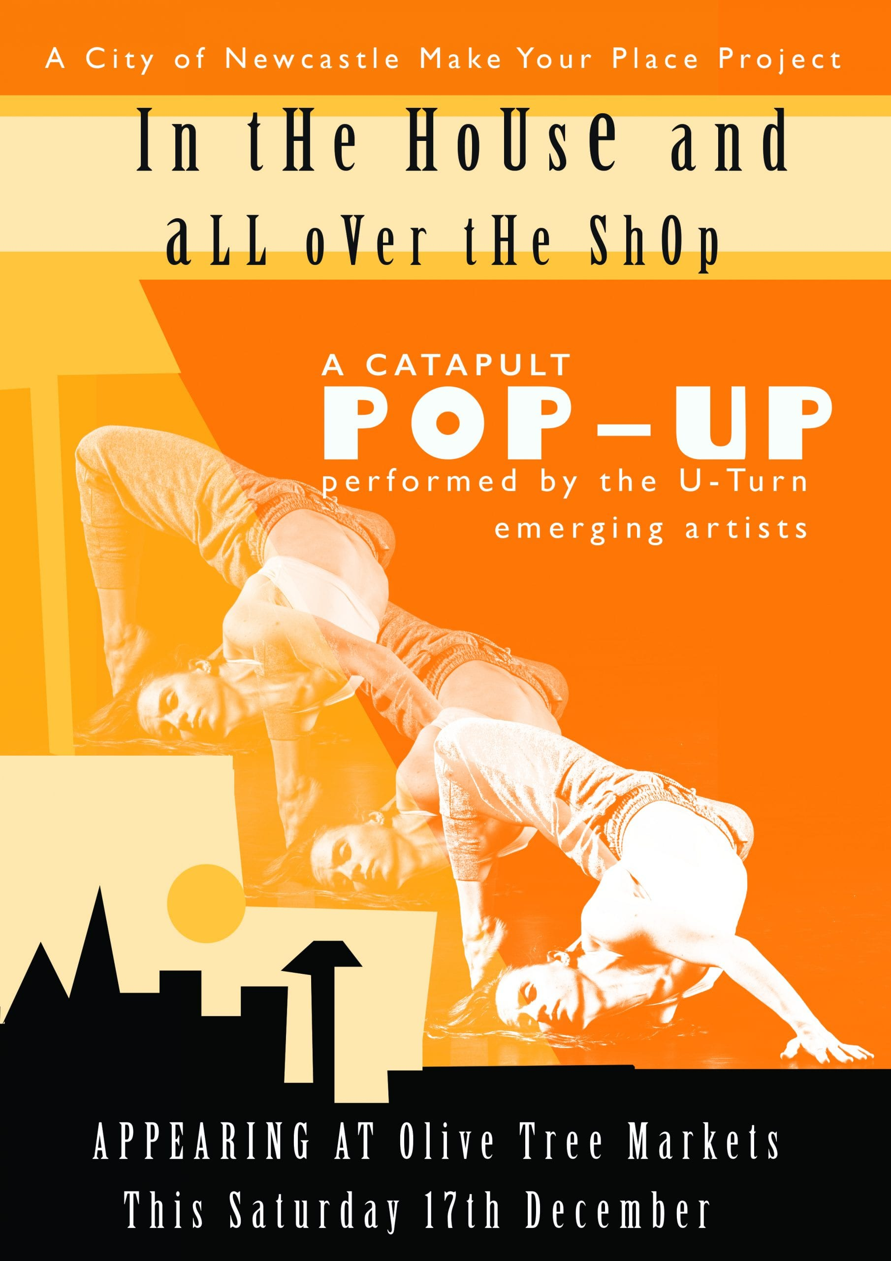 pop up dance shows